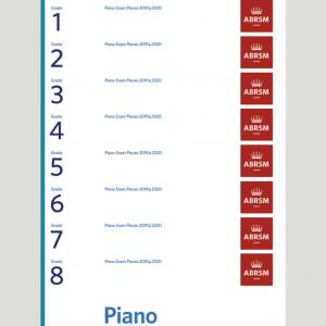 ABRSM Piano Exam Pieces 2019-2020