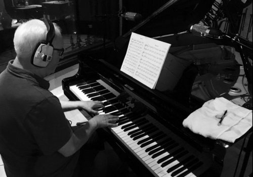 British musician composer Andrew Kear Harrod