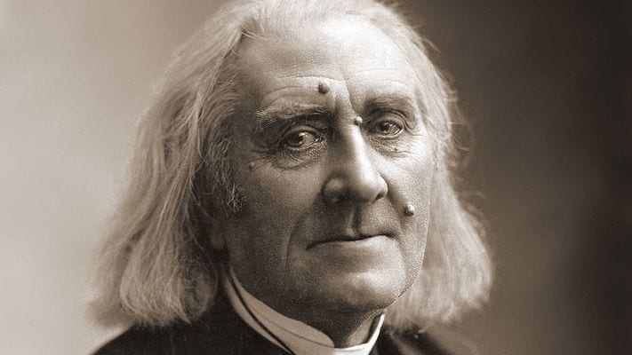 Photograph of Franz Liszt