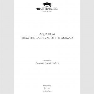 Saint-Saëns Aquarium Carnival Animals Solo Piano Ji Liu