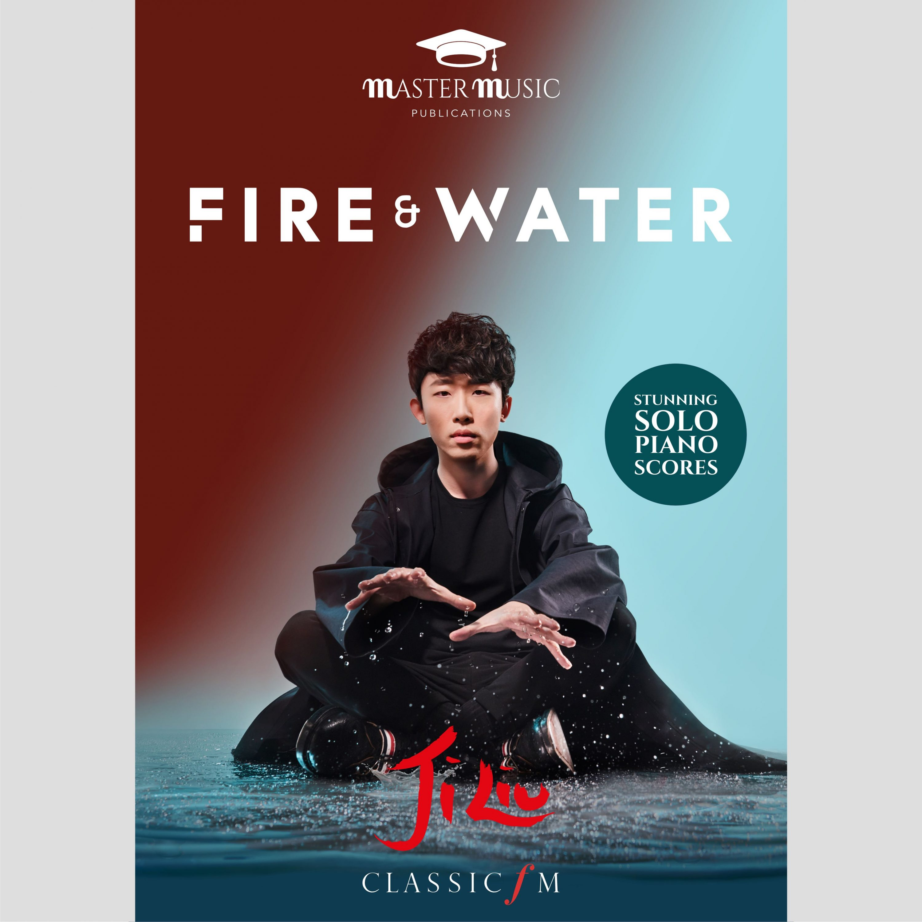 Fire Water Piano Sheet Music Book Ji Liu